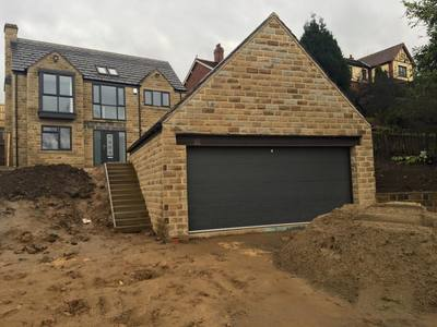 Sectional Garage Doors for New Builds