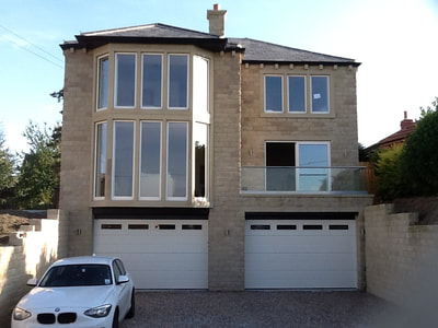 Contemporary garage doors for new builds